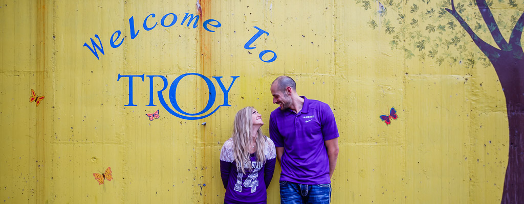 Troy Engagement Photography