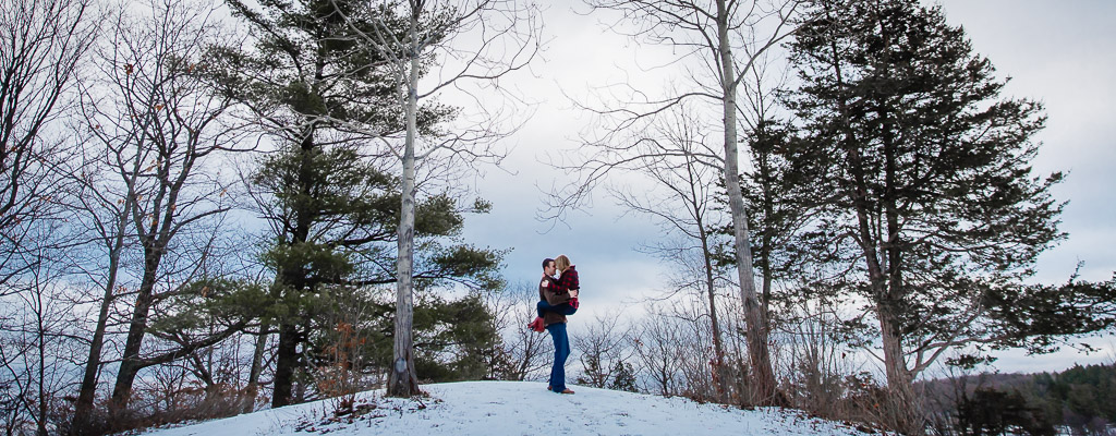 Saratoga State Park Engagement Photography