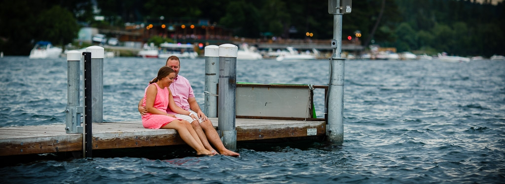 Lake George Engagement Photography