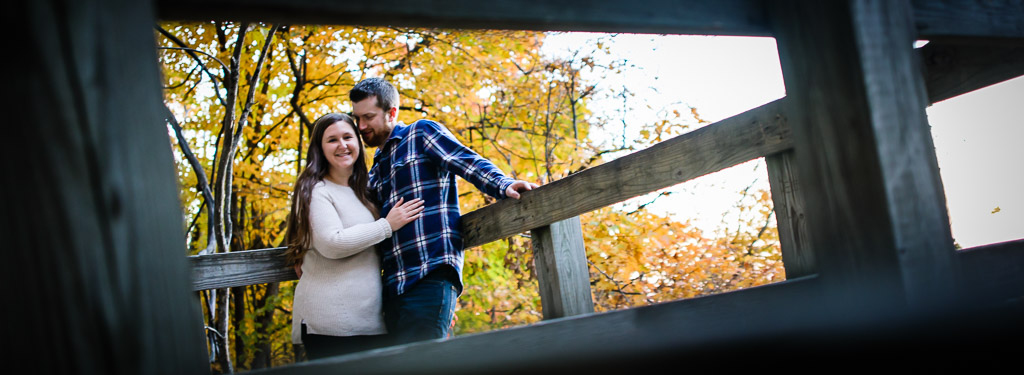 Thatcher Park Engagement Photography